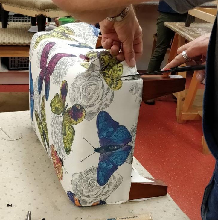 Upholstery Taster Sliding Box