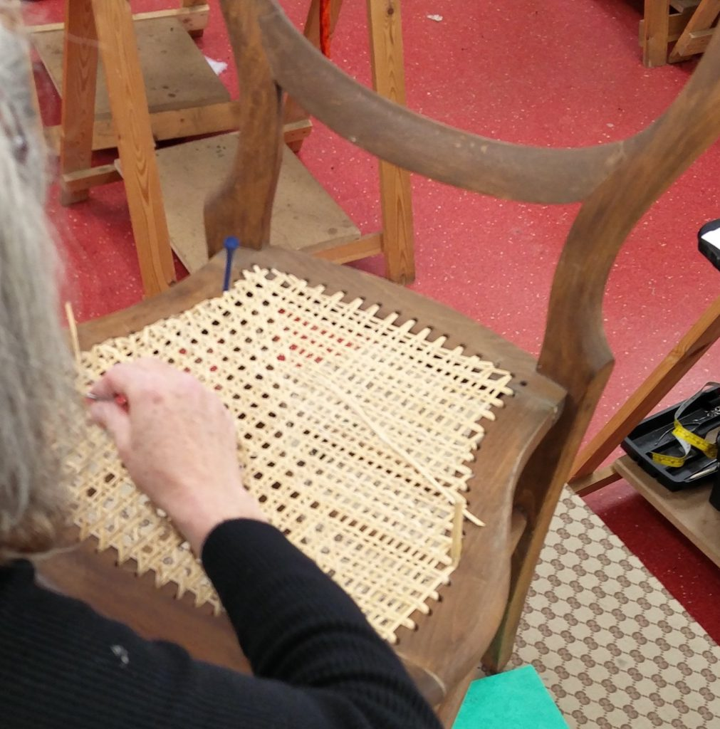 chair caning image